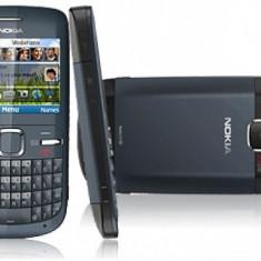 Telefon mobil Nokia C3, Albastru, Neblocat - Nokia c3