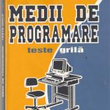 Carte Limbaje de programare - Medii de programare*teste grila