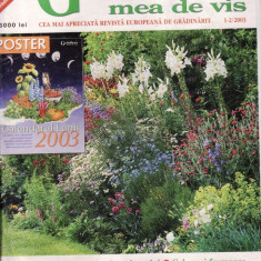 GRADINA MEA DE VIS NR 1-2/2003 - Revista casa