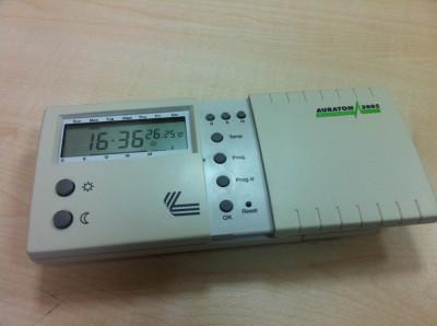 Termostat programabil Auraton 2005 - termostat centrala termica foto