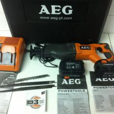 AEG BUS 18,, Pndular sabie cu acumulator 3, 0 Ah din 2009 '' - Fierastrau, Fierastrau electric sabie