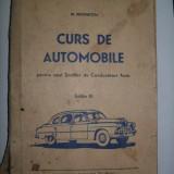 N.Negrutiu-Curs de automobile/ 1957