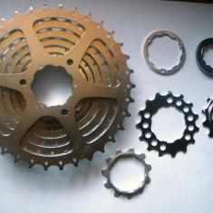 Piese Biciclete Shimano, Pinioane filet/caseta - Shimano HG CS-M580 pinion