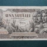 100 lei 1947 piesa - 2 - PRET REDUS