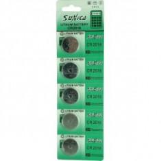 Baterii CR2016/ 3 V- blister de 5 buc, pret la blister-1206 - Baterie ceas