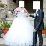 Rochie de mireasa superba - Rochie de mireasa printesa