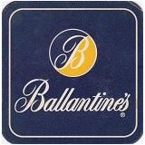 Cartonas de colectie - Suport de pahar / Biscuite BALLANTINE'S