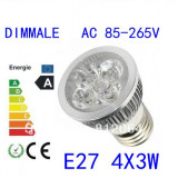 Bec cu led 12w DIMMABLE