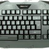 Tastatura iluminata in 3 culori, rosu, portocaliu, verde cu 108 taste, interfata USB-4580