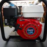 Pompa gradina - Motopompa pe benzina 5.5 CP debit mare