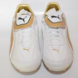 Gazon Puma 10160111 ORIGINALE alb auriu - Ghete fotbal, Marime: 42