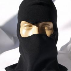 Cagula de culoare neagra, masca protectie fata, pentru scuter, ski, sau biciclisti airsoft, tip ninja new model 2013 - Echipament Airsoft