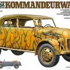 + Macheta 1/35 Tamiya 35235 - German Steyr Type 1500 A Kommandeurwagen + - Macheta auto