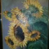 """Tablou- V. Voicu """"Floarea Soarelui"""" - Pictor roman"""