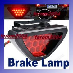Lampa stop cu led, 12 leduri, model F1, al treilea stop pe frana, Universal