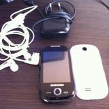 Telefon Samsung, Negru, Smartphone, Touchscreen+Taste, MP3 Player, Camera video - Vand samsung S3650