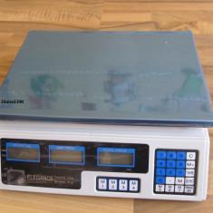 CANTAR ELECTRONIC pentru Piata sau Magazin 40 kg ACUMULATOR INTERN - Cantar de Bucatarie