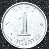 1618 FRANTA 1 CENTIME 1968