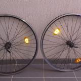 1 pereche de roti de bicicleta, Jante/spite/nipluri