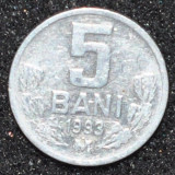 1619 REPUBLICA MOLDOVA 5 BANI 1993 MAI RARA !