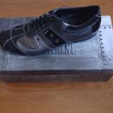 Pantofi sport Basconi - Pantofi barbati, Marime: 41, Culoare: Negru