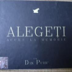 Dan Puric Alegeti Acces la memorie DVD 2008 - Audiobook