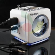 MP3 player Alta, 8GB, Alb, Display, FM radio - BOXA PORTABILA