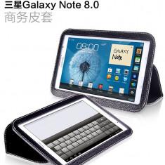 Husa Executive Case Piele Naturala Samsung Galaxy Note 8.0 N5100 by Yoobao Originala Black - Husa Tableta