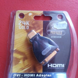 Adaptor interfata PC - Adaptor DVI - HDMI Profigold aproape nou