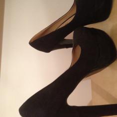 Pantofi ana lublin - Pantof dama Ana Lublin, Marime: 39 1/3, Culoare: Negru, 39 1/3, Negru