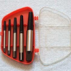 Trusa EXTRACTOARE de suruburi sau prezoane defecte sau ruginite 3-19mm