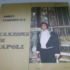 DORIN TEODORESCU CANZONE DI NAPOLI DISC VINIL - Muzica Opera electrecord