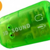 Placa de sunet externa, conectare prin portul USB /4190