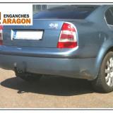 Carlig remorcare auto Skoda Superb 1, SUPERB (3U4) - [2001 - 2008]