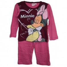Haine Copii 4 - 6 ani, Pijamele, Fete - Pijamale fetite Disney Minnie 2 ani - 6 ani bumbac/Pijamale copii 2 3 4 5 6 ani