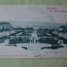 TURNU-SEVERIN - Piata Tudor Vladimirescu 1901