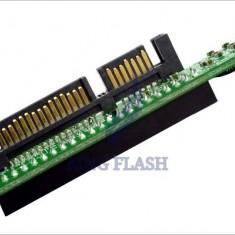 Adaptor interfata PC - Adaptor ide 44pini mama la sata 7+15pini tata de 2, 5inch