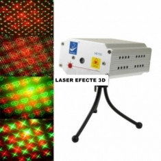 LASER BIG DIPPER CU EFECTE 3D, MODEL NOU 2014 ROSU+VERDE, MISCARE DUPA SUNET, AUTOMAT, LASER DISCO SENZATIONAL. - Laser lumini club