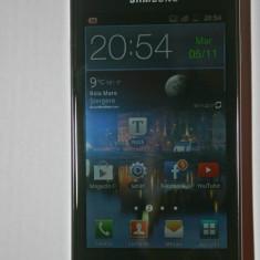 Vand Samsung Galaxy S Advance ( Garantie+Factura+Husa) - Telefon mobil Samsung Galaxy S Advance, Negru, 8GB, Neblocat