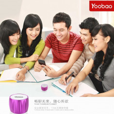 Boxa Difuzor cu Bluetooth Apple iPhone Samsung HTC Nokia SONY by Yoobao Originala Purple - Boxe Telefon