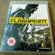 Joc Operation Flashpoint Dragon Rising, PS3, original, 29.99 lei(gamestore)! - Jocuri PS3 Codemasters, Shooting, 16+, Single player