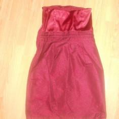 Rochie H&M - Rochie de zi H&m, Marime: S, Culoare: Rosu, Poliester