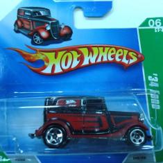 HOT WHEELS -TREASURE HUNT -'34 FORD SEDAN -++2501 DE LICITATII !! - Macheta auto Hot Wheels, 1:64