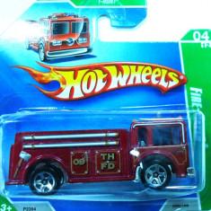HOT WHEELS-TREASURE HUNT-FIRE EATER -++2501 LICITATII !! - Macheta auto Hot Wheels, 1:64