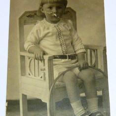Carte postala - ARTA, ISTORIE - Copil cu cerc - Brasov - circulata fara timbru 1913  -  2+1 gratis toate produsele la pret fix - RBK3990
