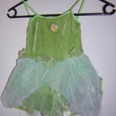 Costum serbare, carnaval, rochie balerina Tinkerbell - Costum petrecere copii