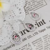Bijuterii Argint Set Complet Lantisor + Pantantiv + Cercei + Inel Set Fashion Charm 2 - Set bijuterii argint