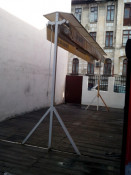 Marchiza de terasa / gradina 6mX5m stare perfecta estetic si functional (copertina prelata umbrela pavilion parasolar ) foto