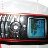 TELEFON LG Z525i - ZAPP, Rosu, Clasic, TFT, 128x128 pixeli