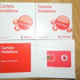 Cartela Vodafone - Cartela Sim Vodafone cu numar si credit 5 EUR